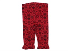 Noa Noa Miniature leggings print red flower